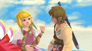 Skyward Sword — Link & Zelda