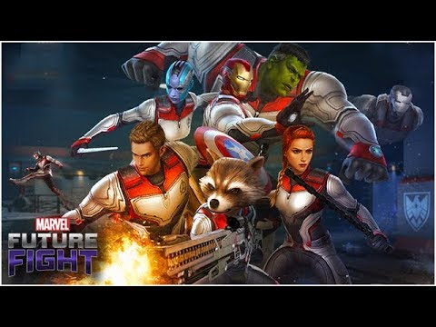 Avengers Quantum Team Up! Beautiful Sneak Peek! (Endgame Update) - Marvel Future Fight