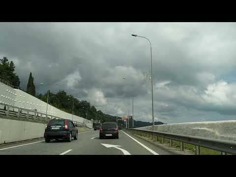 Сочи дорога в Адлер 2019
