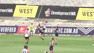 Fremantle Intraclub: Nat Fyfe flies and assists
