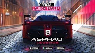 Asphalt 9: Legends - Official Launch Trailer