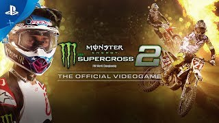 Monster Energy Supercross - The Official Videogame 2 - First Gameplay Reveal | PS4