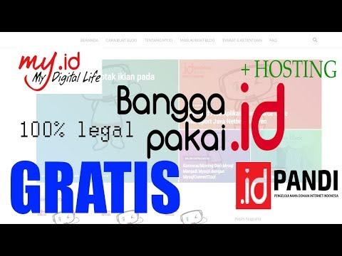 🔴 Cara Mendapat Domain .ID dan Hosting GRATIS dari Pandi