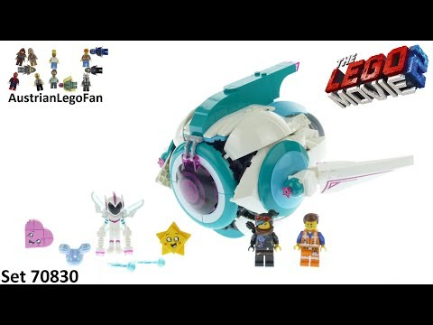 Vidéo LEGO The LEGO Movie 70830 : Le vaisseau spatial Systar de Sweet Mayhem !