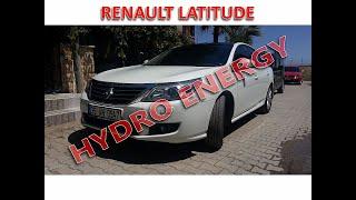 Renault Latitude UCR Hidrojen yakıt tasarruf cihazı montajı.