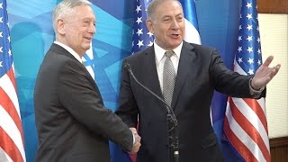 US Defense Secretary Mattis Meets Israeli Leader Netanyahu