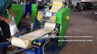 Mesin Pembuatan Mie Multifungsi. Bisa Membuat Mie Lurus dan Keriting