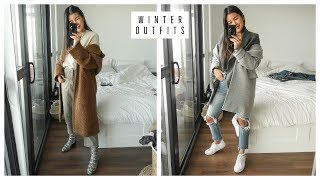 EASY WINTER OUTFIT IDEAS | WHAT I WORE THIS WEEK