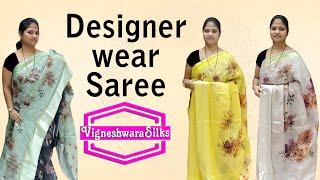 Designer Wear Sarees       Vigneshwara Silks   