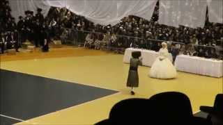 """שמחת סאטמאר מאנסי מצוה טאנץ כסליו תשע""""ו - Satmar Monsey Wedding Mitzva Tanz Nov 11. 2016"""