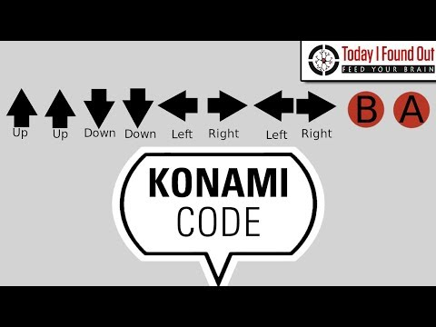 Who Invented the Konami Code?