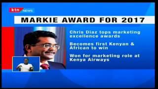 Bidco Dir-Chris Diaz becomes the first Kenyan to win Markie Award