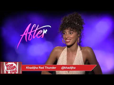 Khadijha Red Thunder talks about the film AFTER