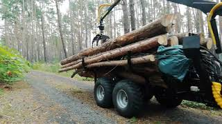 Der Tz4k im Forsteinsatz #2, jetzt mit dem Jansen HRW-15