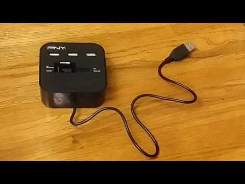 Josh Reviews PNY Multi slot port USB