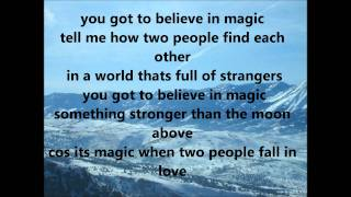 Side A   Got To Believe In Magic (with Lyrics)