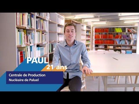 Video #AlternanceEDF - Découvrez Paul, alternant formateur en centrale nucléaire