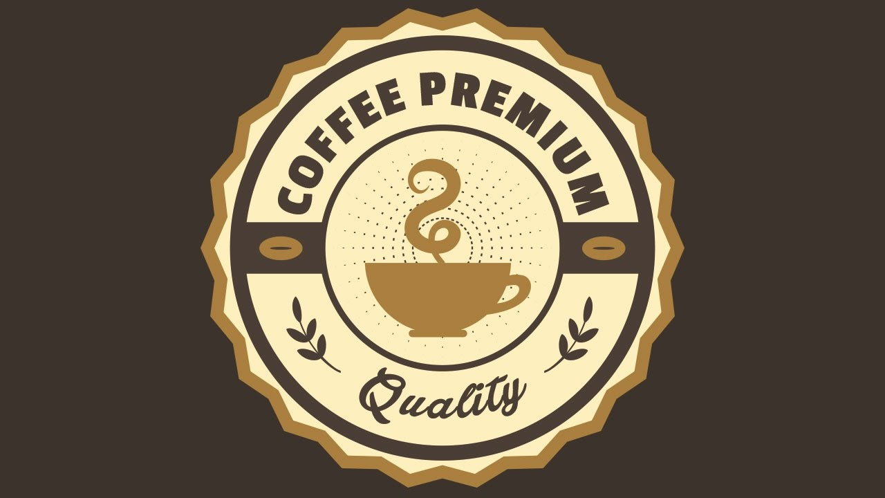 Creating a Coffee Premium Label Design Using Free Fonts