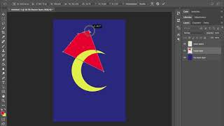 Adobe Photoshop arranging layer transform object