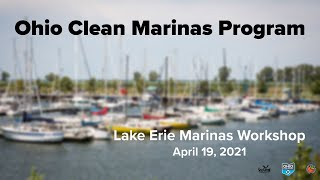 Ohio Clean Marinas Program Workshop
