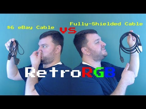 $6 RGB SCART Cable vs High-quality shielded cable