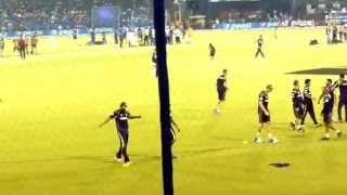 preview picture of video 'ipl pratice  match  at barabati stadium in  cuttack 2014'