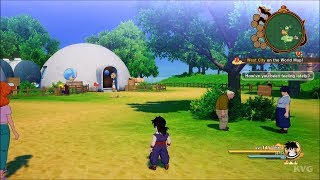 Dragon Ball Z: Kakarot - Open World Free Roam Gameplay (PS4 HD) [1080p60FPS]