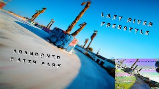 THIS IS HOW YOU MELT A LIPO | ABANDONED WATER PARK FPV FREESTYLE | + DVR!