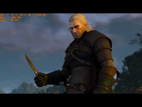The Witcher 3 4K (Modded | Optimized Settings) | GTX 1070 8GB | i7