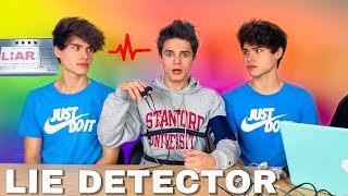 LIE DETECTOR TEST ON BRENT RIVERA! (EXPOSED)