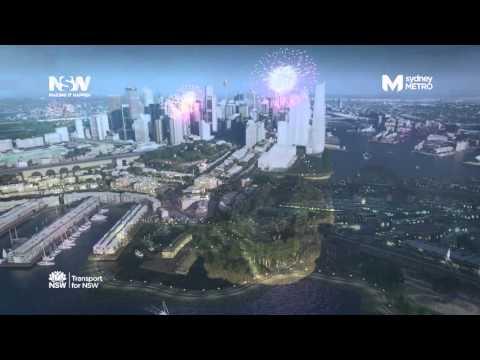 Rozbudowa systemu kolei podziemnej w Sydney