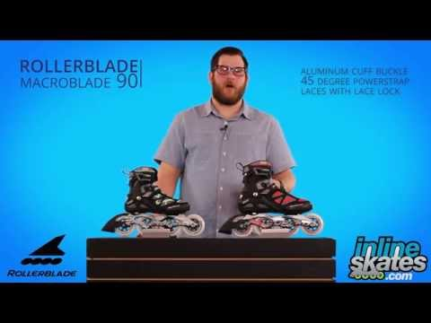 Video: 2016 Rollerblade Macroblade 90 Mens and Womens Inline Skate Review by InlineskatesDOTcom