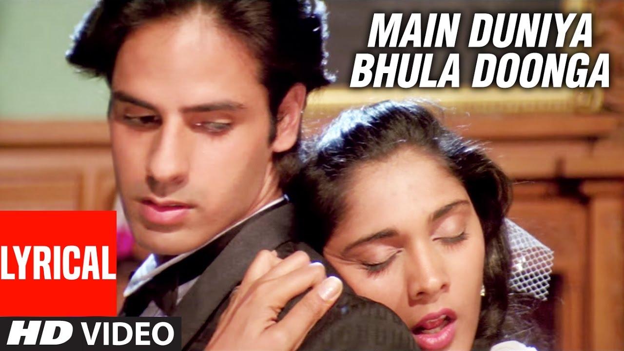 Main Duniya Bhula Doonga Hindi lyrics