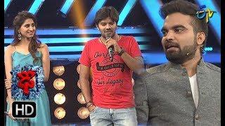 Sudheer | Varshni | Funny Joke | Dhee 10 | 28th March 2018| ETV Telugu