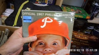 ANTIQUE MALL RECAP: OLD PROGRAMS AND BASEBALL CARDS
