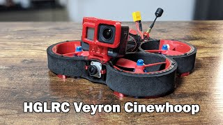 HGLRC Veyron Cinewhoop - Setup and Review