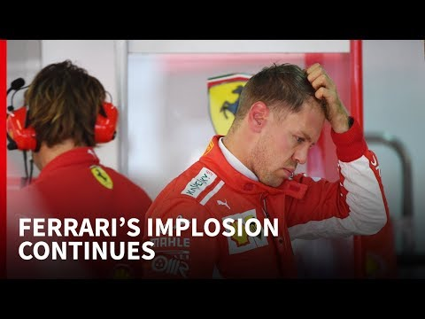 Ferrari's implosion continues