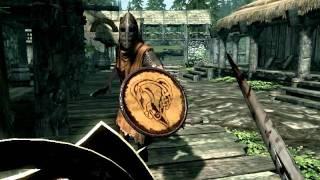 Броня и меч Короля Лича  в Skyrim