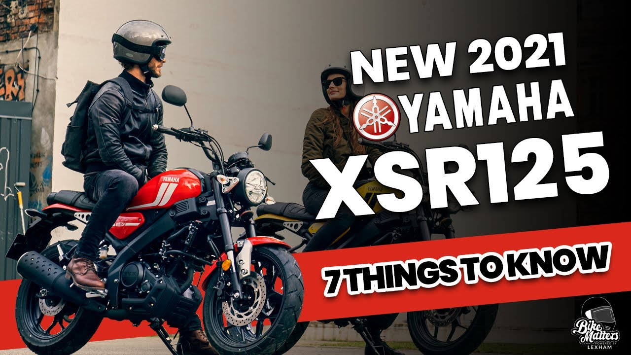 2021 Yamaha XSR125: 7 things to know!