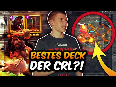 NEUES BESTES SCHWEINEREITER DECK! | 2.8 ELIXIER CYCLE!  | Clash Royale Deutsch
