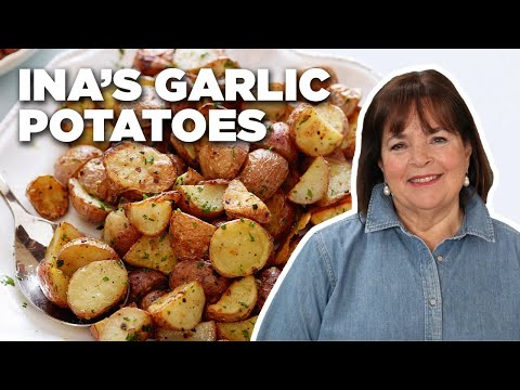 Recipe of the Day: Ina's 5-Star Garlic Roasted Potatoes | Food Network