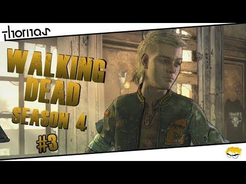 The Walking Dead 4 - |#03| - Noví přátelé.. | Český Let's Play | Částečný překlad