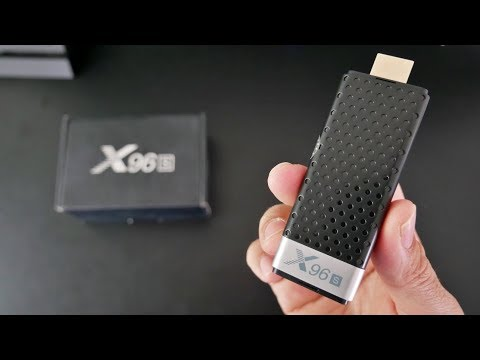 X96S Android Oreo TV Stick - S905Y2 - 4GB RAM