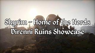 Skyrim - Direnni Ruins Showcase - A Morrowind Mod