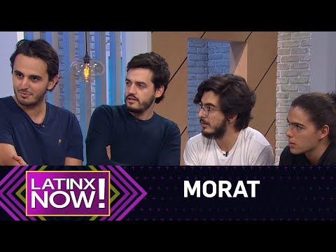 Morat Tells How They're Going To Take Over America | Latinx Now! | E! News