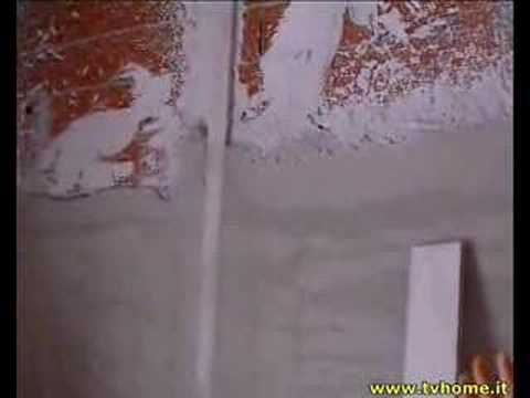 Problema intonaco su parete predisposta per piastrelle - Rasare su piastrelle ...