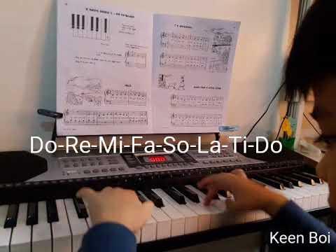 Do-Re-Mi-Fa-So-La-Ti-Do in Keyboard