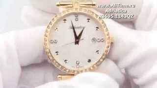 Обзор. Женские наручные часы Adriatica A3695.1143QZ