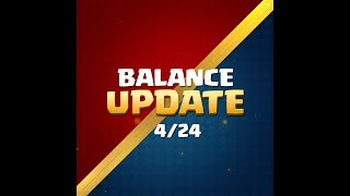 Clash Royale: Balance Update Live! (4/25)