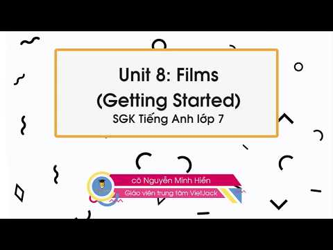 Unit 8: getting started